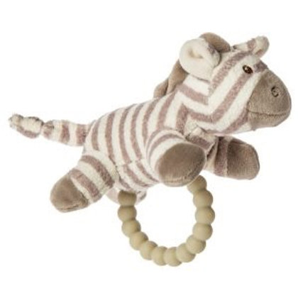 Afrique Zebra Teether Rattle