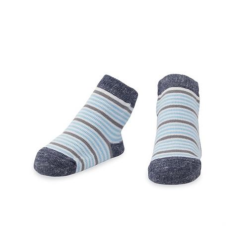 Blue Striped Sock