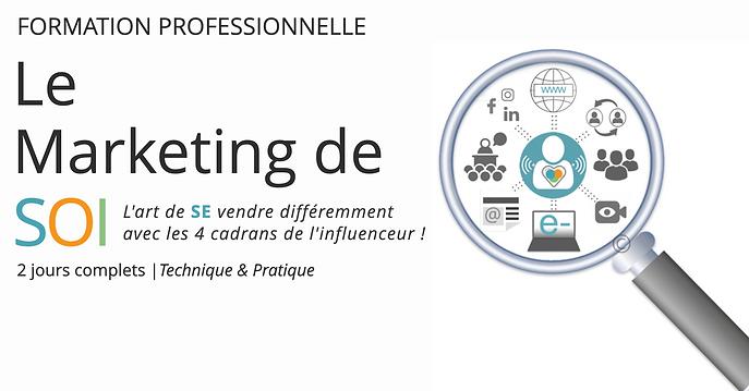 Marketing de soi + Formation + Majoly Di