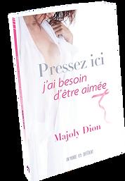 Livre de Majoly DION Transcender les épreuves du cancer avec courage et paix