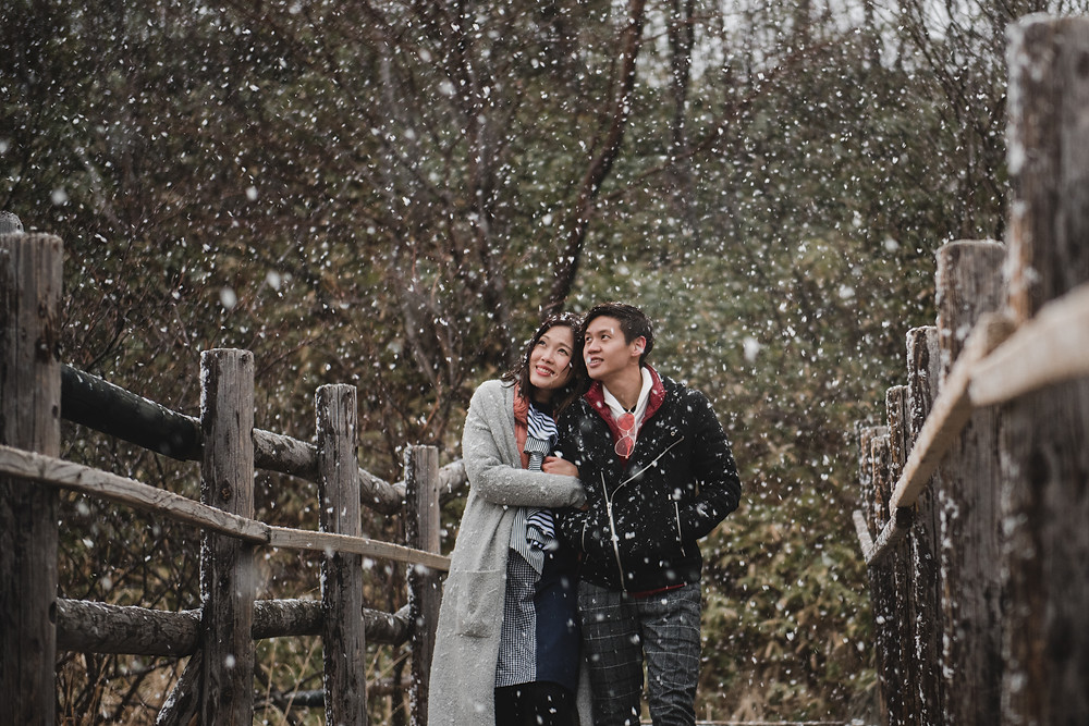 Hokkaido Destination Prewedding - Snow