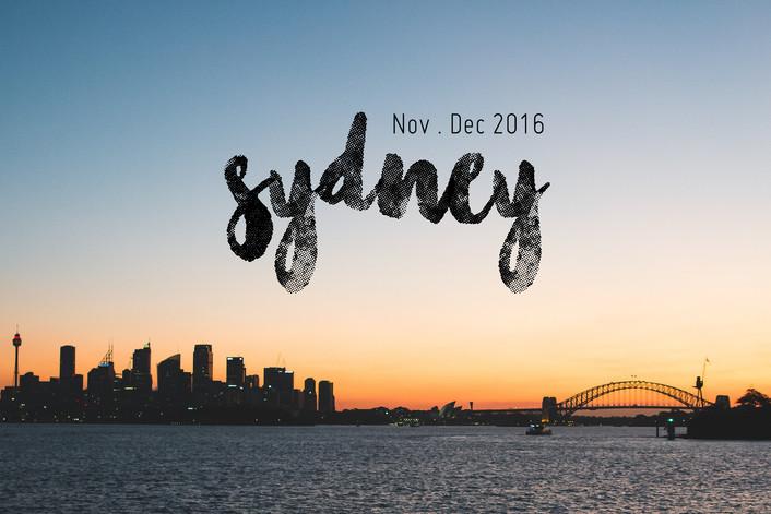 Sydney Shoot - Spring/Summer 2016