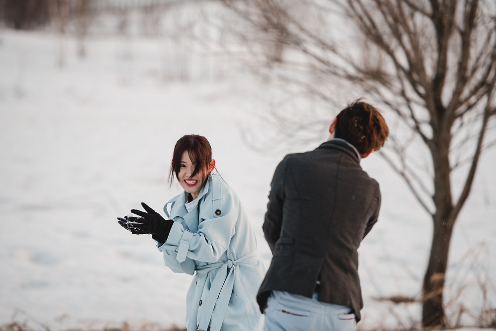 Hokkaido Destination Prewed - Snow