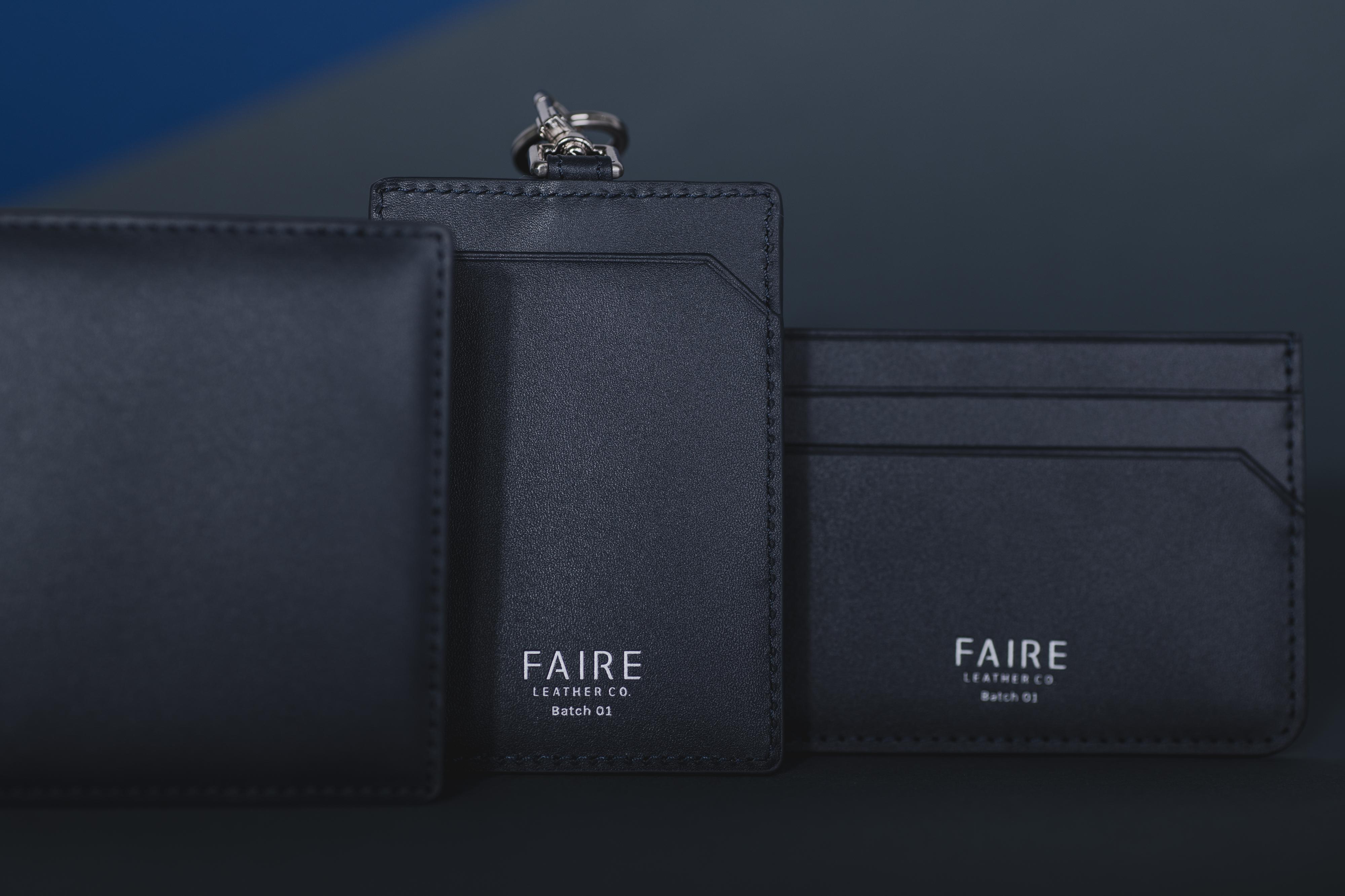Faire Leather - Navy Bundle-3