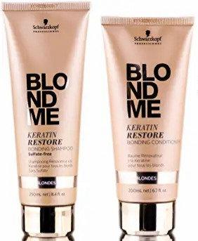 Schwarzkopf BlondMe Keratin Restore Shampoo and Conditioner Set