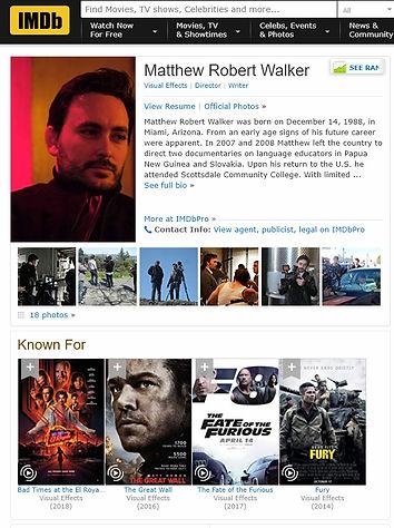 Matthew Walker IMDB