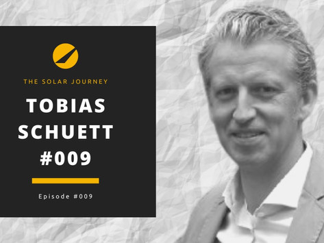 Episode #009 - Tobias Schuett