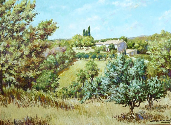 FERME AUX TROIS CYPRES - Farm with three cypresses