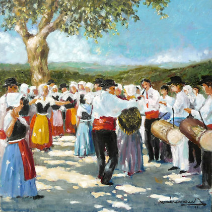 LES TAMBOURINAIRES - THE PROVENCAL DRUM PLAYERS