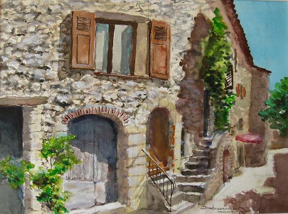 RUELLE DE TOURETTES SUR LOUP - Village street