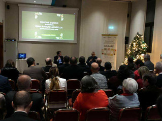 Gli auguri di Natale di Federlazio Viterbo con il sottosegretario allo Sviluppo Economico.