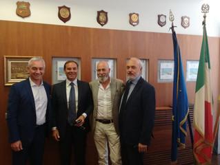 Federlazio incontra il sindaco di Civitavecchia: Enel, porto e imprenditoria locale i temi affrontat