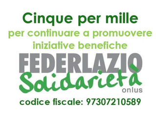 5 X MILLE a Federlazio Solidarietà