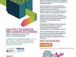 Evento - Indicazioni operative per la Formazione alla Salute e Sicurezza nei luoghi di lavoro