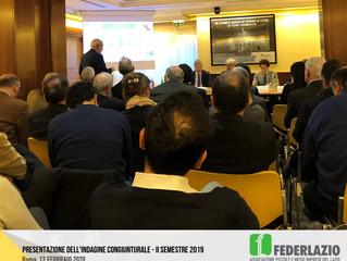 Indagine Congiunturale: Pmi Lazio ancora in forte affanno