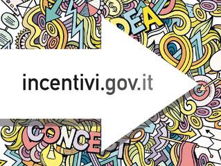 Il sito dedicato agli incentivi