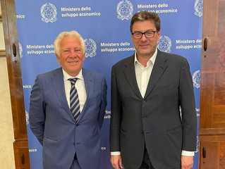 CONFIMI INDUSTRIA incontra il Ministro dello Sviluppo Economico Giancarlo Giorgetti