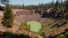 Smoky Inyo Crater