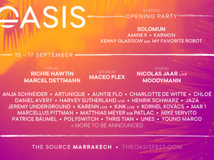 Morocco's Oasis Festival 2017 Adds Richie Hawtin, Nicolas Jaar, Henrik Schwarz, and more for stu