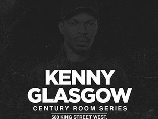 CENTURY ROOM SERIES PRESENTS: KENNY GLASGOW AT EVERLEIGH TUESDAY APRIL, 19th