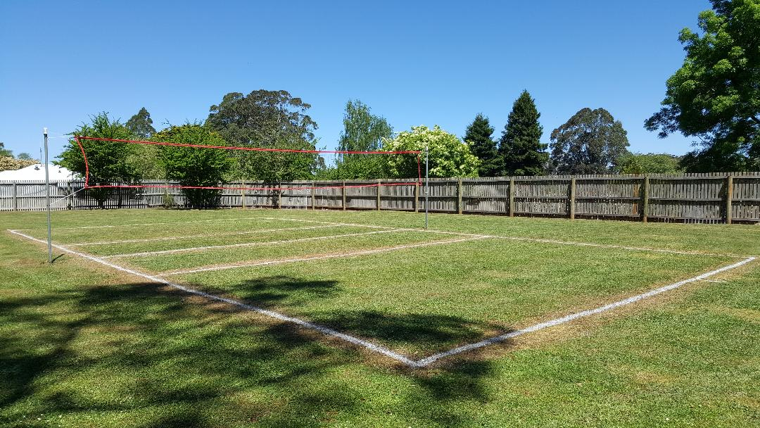 Rawson Village Camp Volleyball Court