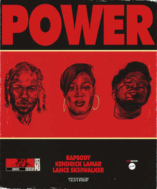"""Power"" Comic Book Front cover"
