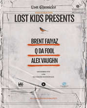 """""""Lost Kids presents Brent Faiyaz in Baltimore"""" Poster"""