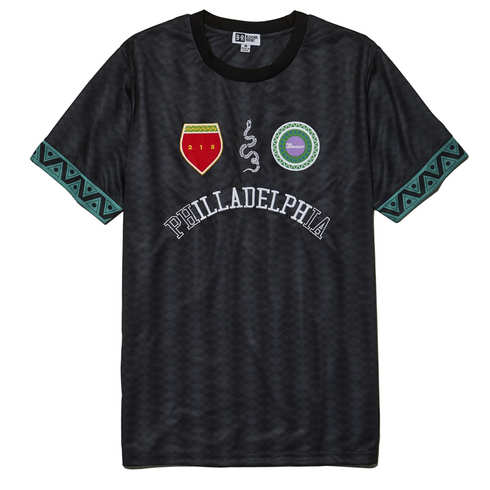 "The Roots ""iLLADELPH"" World Cup T-shirt front"