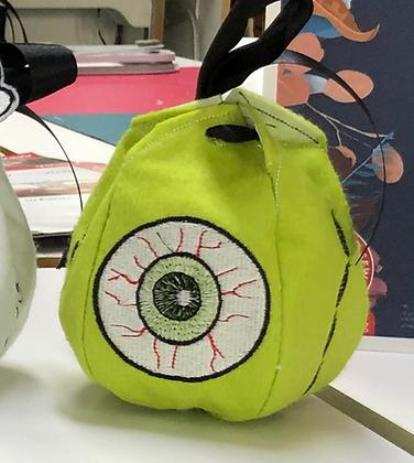 Eyeball Halloween Treat Bag