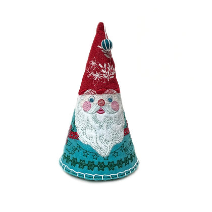"6"" Gnome Multi Color / Medium 150mm x 150mm Hoop"