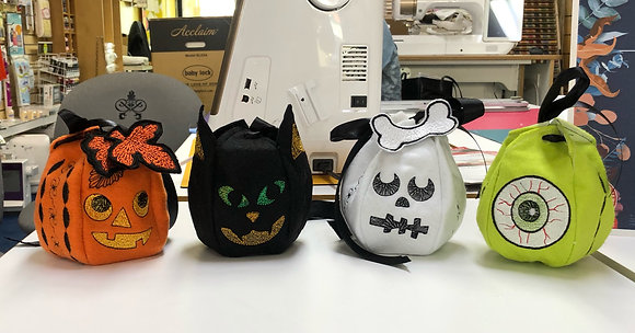 All 4 Halloween Treat Bags