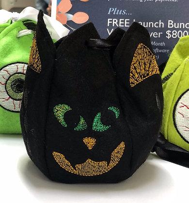 Cat Halloween Treat Bag