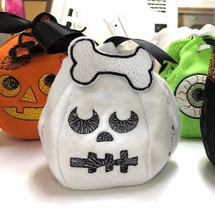 Skeleton Halloween Treat Bag