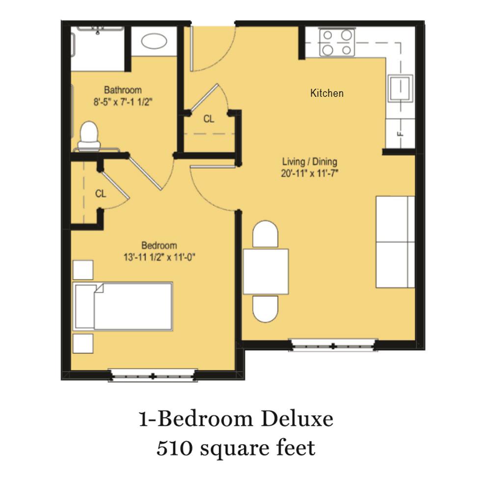 One-Bedroom Deluxe
