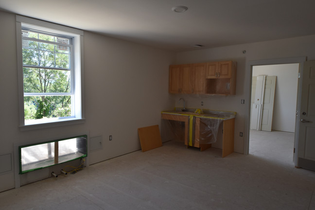 Construction Interior - Margaret Pratt Community
