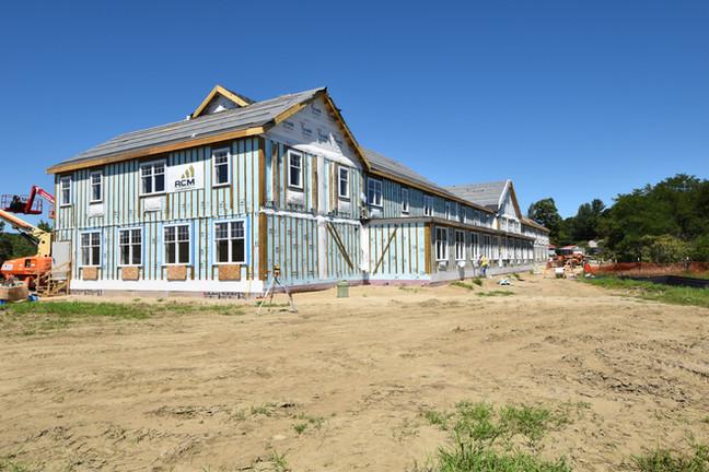 Construction Exterior - Margaret Pratt Community