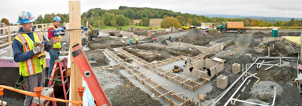 Construction underway at Morgan Orchards Independent Living - Vermont