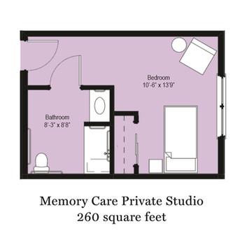Memory Care Private Studio