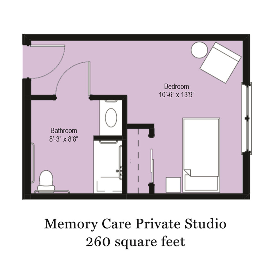 Memory Care Private Studio