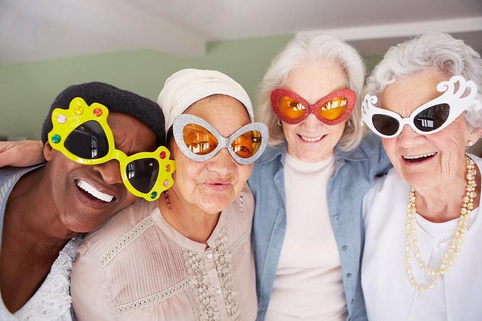 Summercrest Senior Living women wearing