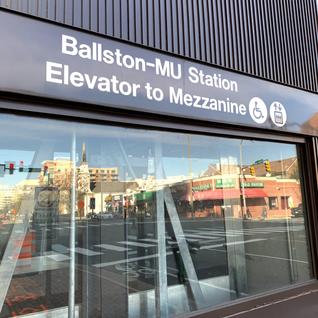 Ballston Metro Station - Cusumano & Stuv