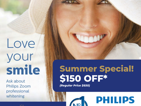 Get a Brighter, Whiter Smile This Summer!