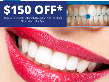Zoom Teeth Whitening Fall Special Offer!