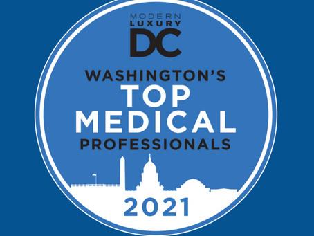 Karen Harriman, DDS Named 2021 Top Medical Professional by Modern Luxury DC Magazine