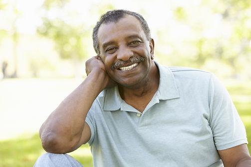 Senior African American Man In Park.jpg