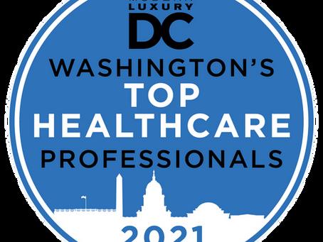 Dr. Karen Benitez Named Top Medical Professional by Modern Luxury DC Magazine!