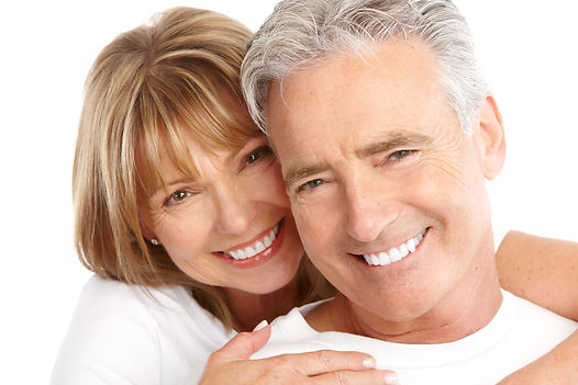 Happy seniors couple in love. Healthy te