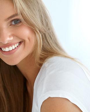 Beauty Woman Portrait. Closeup Of Beauti