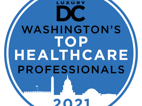Modern Luxury DC Magazine's Top Medical Professionals: Fairfax Dentist Dr. Janet K. Song Recognized