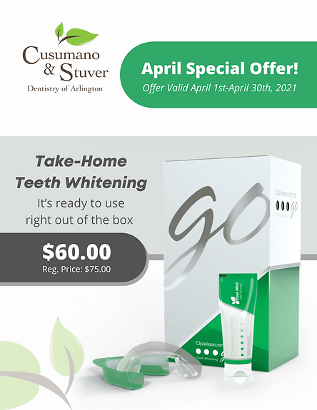 Cusumano & Stuver - Teeth Whitening Spec